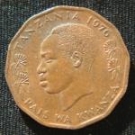 5 центов 1976 год Танзания