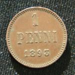 1 пенни 1893 год