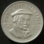Медаль Томас Мюнцер  1525-1975 год  ГДР